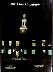 Page 5, 1966 Edition, Troy University - Palladium Yearbook (Troy, AL) online yearbook collection