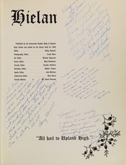 Page 5, 1959 Edition, Upland High School - Hielan Yearbook (Upland, CA) online yearbook collection