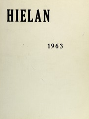 Upland High School - Hielan Yearbook (Upland, CA) online yearbook collection, 1963 Edition, Page 1