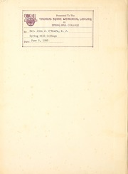 Page 2, 1939 Edition, Spring Hill College - Torch Yearbook (Mobile, AL) online yearbook collection