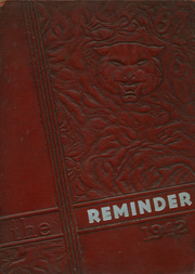 1942 Edition, Jackson County High School - Reminder Yearbook (Scottsboro, AL)