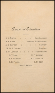 Page 11, 1907 Edition, Mobile High School - Bartonian Yearbook (Mobile, AL) online yearbook collection