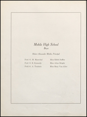 Page 16, 1909 Edition, Mobile High School - Bartonian Yearbook (Mobile, AL) online yearbook collection