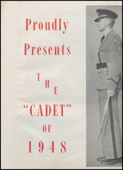 Page 7, 1948 Edition, University Military School - Cadet Yearbook (Mobile, AL) online yearbook collection