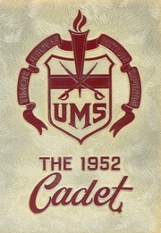 1952 Edition, University Military School - Cadet Yearbook (Mobile, AL)