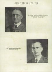 Page 10, 1953 Edition, University Military School - Cadet Yearbook (Mobile, AL) online yearbook collection