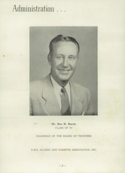 Page 12, 1953 Edition, University Military School - Cadet Yearbook (Mobile, AL) online yearbook collection