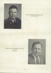 Page 13, 1953 Edition, University Military School - Cadet Yearbook (Mobile, AL) online yearbook collection