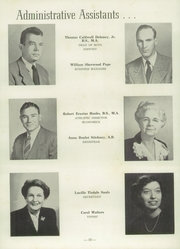 Page 14, 1953 Edition, University Military School - Cadet Yearbook (Mobile, AL) online yearbook collection