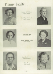 Page 16, 1953 Edition, University Military School - Cadet Yearbook (Mobile, AL) online yearbook collection