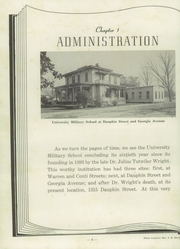 Page 8, 1953 Edition, University Military School - Cadet Yearbook (Mobile, AL) online yearbook collection
