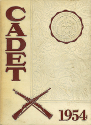 1954 Edition, University Military School - Cadet Yearbook (Mobile, AL)