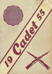 1955 Edition, University Military School - Cadet Yearbook (Mobile, AL)