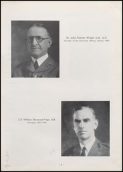 Page 7, 1955 Edition, University Military School - Cadet Yearbook (Mobile, AL) online yearbook collection