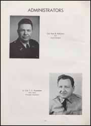Page 8, 1955 Edition, University Military School - Cadet Yearbook (Mobile, AL) online yearbook collection