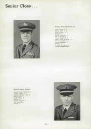 Page 14, 1956 Edition, University Military School - Cadet Yearbook (Mobile, AL) online yearbook collection
