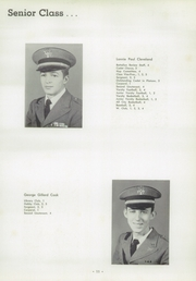 Page 15, 1956 Edition, University Military School - Cadet Yearbook (Mobile, AL) online yearbook collection