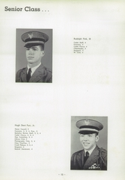 Page 17, 1956 Edition, University Military School - Cadet Yearbook (Mobile, AL) online yearbook collection