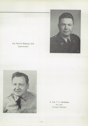 Page 9, 1956 Edition, University Military School - Cadet Yearbook (Mobile, AL) online yearbook collection