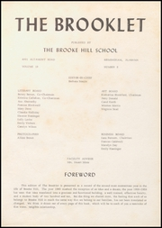 Page 5, 1959 Edition, Brooke Hill School - Brooklet Yearbook (Birmingham, AL) online yearbook collection
