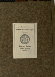 Page 2, 1923 Edition, Shorter College - Argo Yearbook (Rome, GA) online yearbook collection