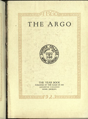 Page 7, 1923 Edition, Shorter College - Argo Yearbook (Rome, GA) online yearbook collection