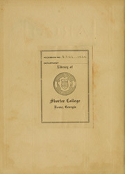 Page 2, 1924 Edition, Shorter College - Argo Yearbook (Rome, GA) online yearbook collection