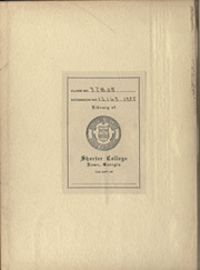 Page 2, 1935 Edition, Shorter College - Argo Yearbook (Rome, GA) online yearbook collection