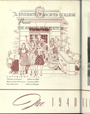 Page 6, 1940 Edition, Shorter College - Argo Yearbook (Rome, GA) online yearbook collection