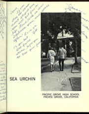 Page 5, 1965 Edition, Pacific Grove High School - Sea Urchin Yearbook (Pacific Grove, CA) online yearbook collection