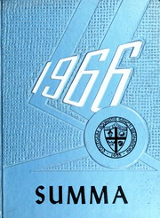 1966 Edition, Aquinas High School - Summa Yearbook (San Bernardino, CA)