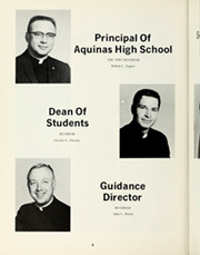 Page 12, 1969 Edition, Aquinas High School - Summa Yearbook (San Bernardino, CA) online yearbook collection