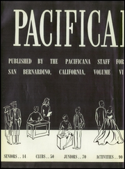 Page 8, 1959 Edition, Pacific High School - Pacificana Yearbook (San Bernardino, CA) online yearbook collection