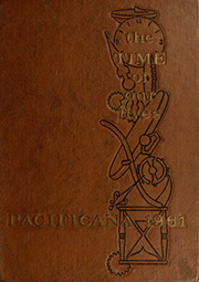 1961 Edition, Pacific High School - Pacificana Yearbook (San Bernardino, CA)