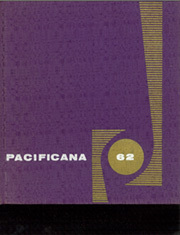 1962 Edition, Pacific High School - Pacificana Yearbook (San Bernardino, CA)
