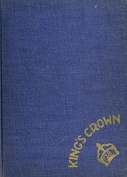 1938 Edition, Rufus King High School - Kings Crown Yearbook (Milwaukee, WI)