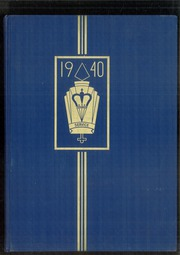 1940 Edition, Rufus King High School - Kings Crown Yearbook (Milwaukee, WI)