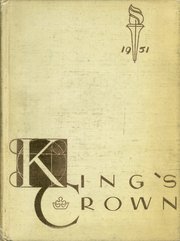 Rufus King High School - Kings Crown Yearbook (Milwaukee, WI) online yearbook collection, 1951 Edition, Page 1