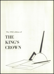 Page 7, 1952 Edition, Rufus King High School - Kings Crown Yearbook (Milwaukee, WI) online yearbook collection