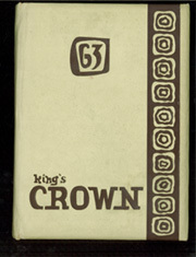 1963 Edition, Rufus King High School - Kings Crown Yearbook (Milwaukee, WI)
