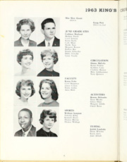 Page 10, 1963 Edition, Rufus King High School - Kings Crown Yearbook (Milwaukee, WI) online yearbook collection