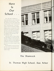 Page 6, 1963 Edition, St Thomas High School - Shamrock Yearbook (Ann Arbor, MI) online yearbook collection