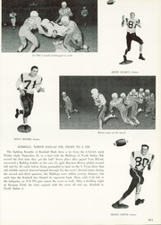 Page 215, 1960 Edition, Kimball High School - Excalibur Yearbook (Dallas, TX) online yearbook collection