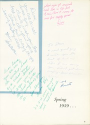 Page 9, 1960 Edition, Kimball High School - Excalibur Yearbook (Dallas, TX) online yearbook collection