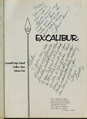 Page 5, 1963 Edition, Kimball High School - Excalibur Yearbook (Dallas, TX) online yearbook collection