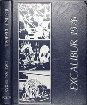 1976 Edition, Kimball High School - Excalibur Yearbook (Dallas, TX)