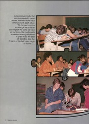 Page 14, 1980 Edition, Kimball High School - Excalibur Yearbook (Dallas, TX) online yearbook collection