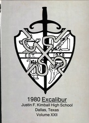 Page 5, 1980 Edition, Kimball High School - Excalibur Yearbook (Dallas, TX) online yearbook collection