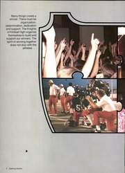 Page 8, 1980 Edition, Kimball High School - Excalibur Yearbook (Dallas, TX) online yearbook collection