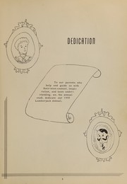 Page 9, 1950 Edition, St Maries High School - Lumberjack Yearbook (St Maries, ID) online yearbook collection